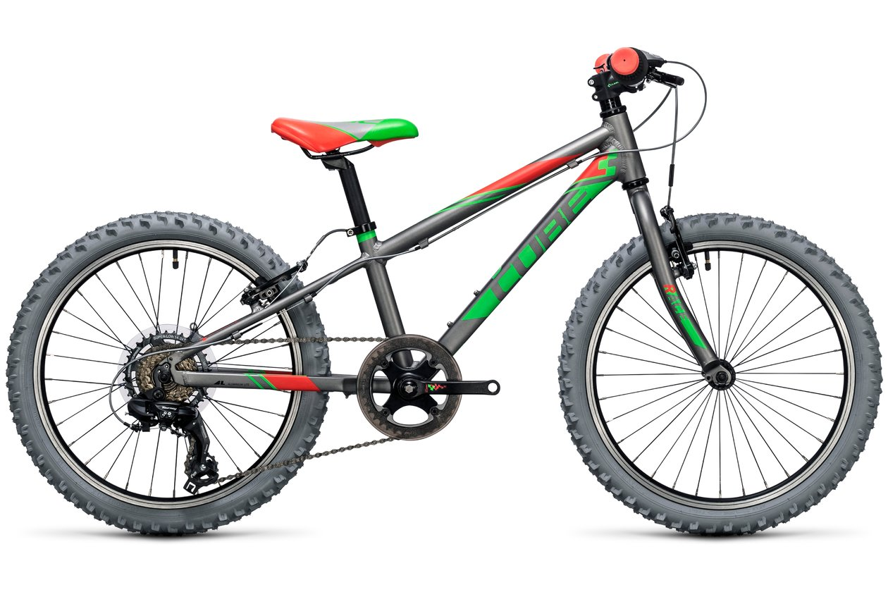 Cube Kid 200 grey'n'green - 2017 - 20 Zoll - Hardtail