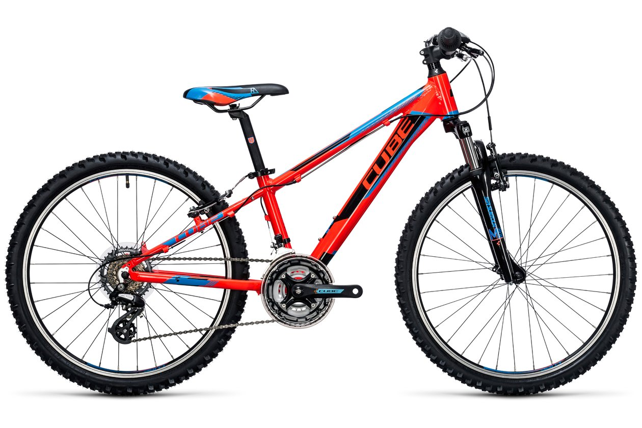 Cube Kid 240 action team - 2017 - 24 Zoll - Hardtail