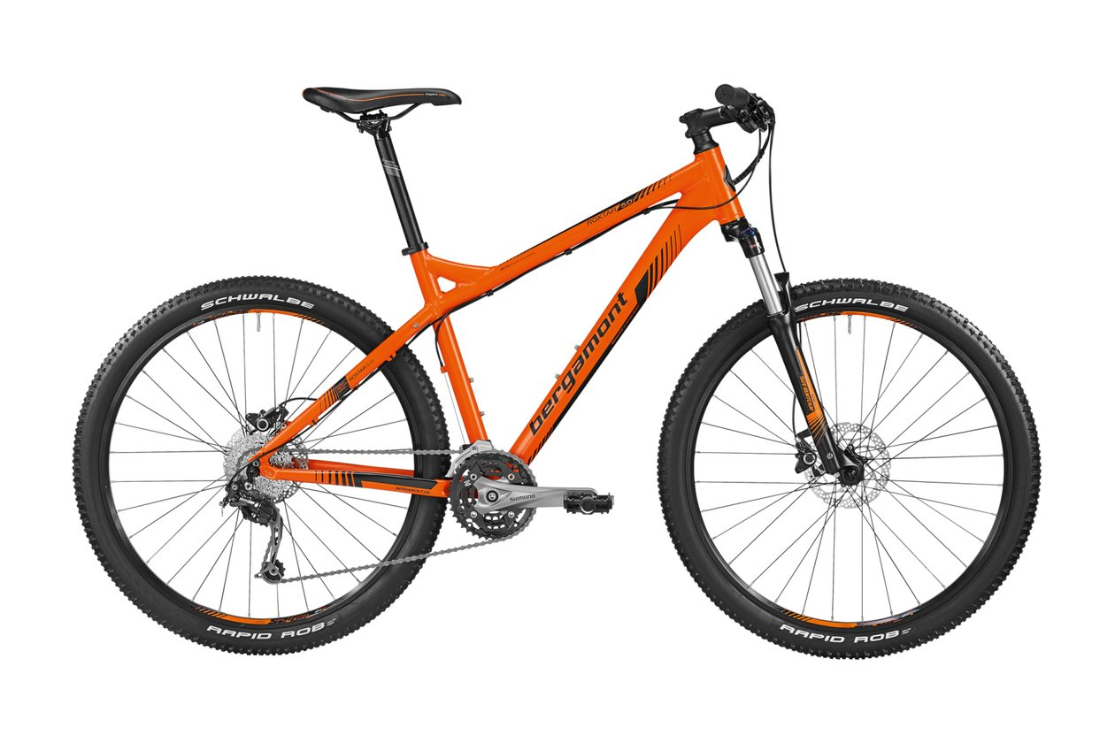 Bergamont Roxtar 5.0 orange - 2016 - 27,5 Zoll - Hardtail