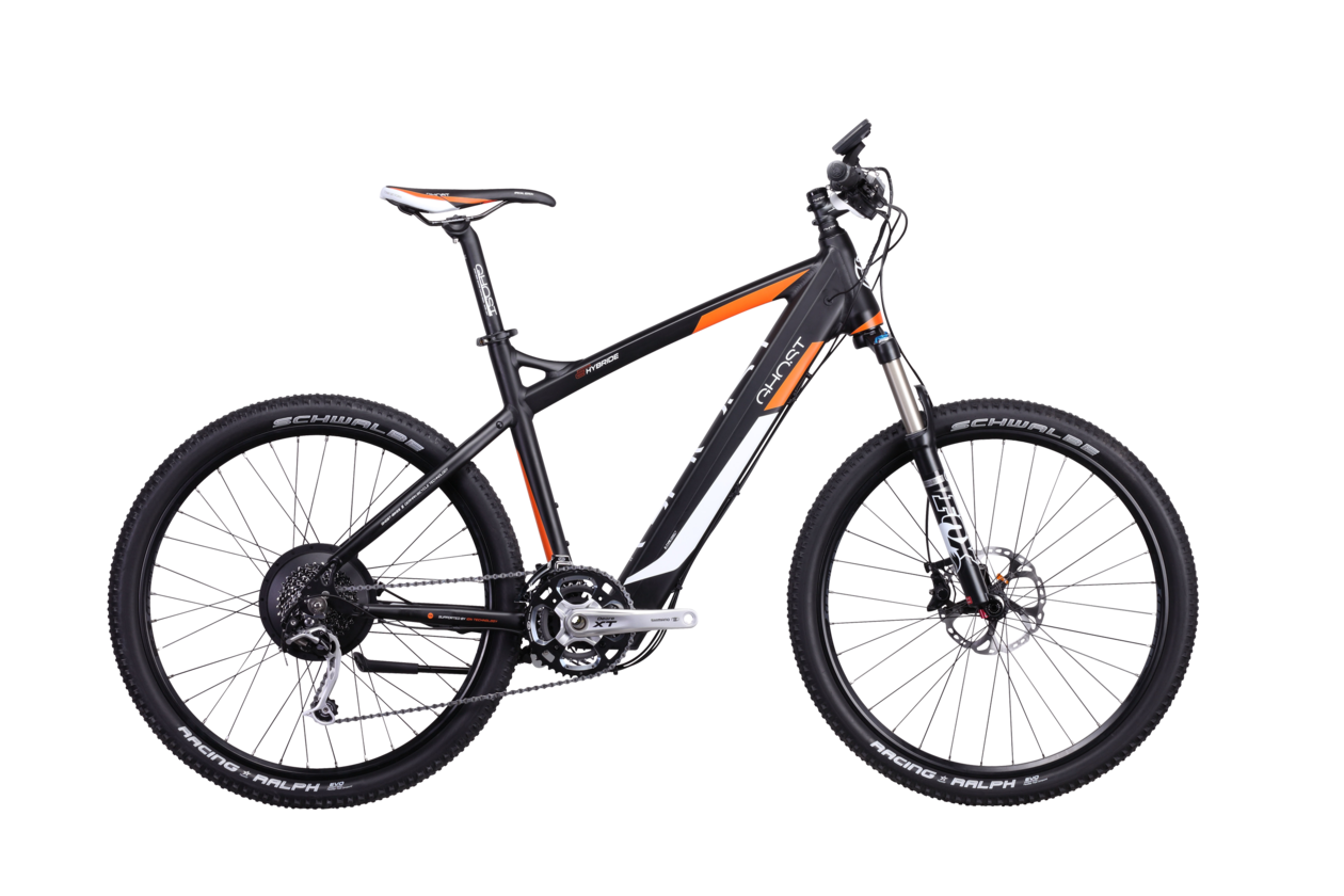 Ghost E-Hybride Trail 9000 man - 2014 - 26 Zoll - Hardtail