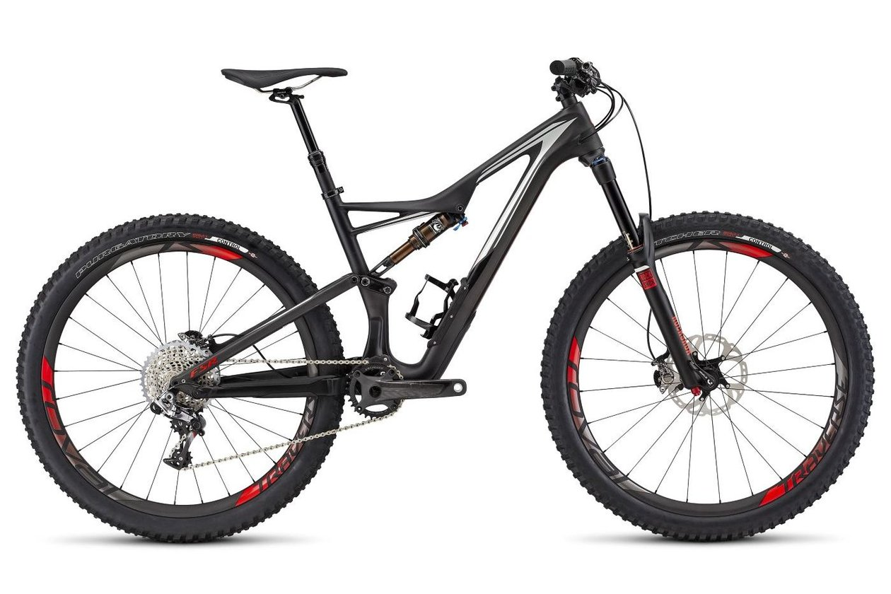 Specialized S-Works Stumpjumper FSR 650b - 2016 - 27,5 Zoll - Fully