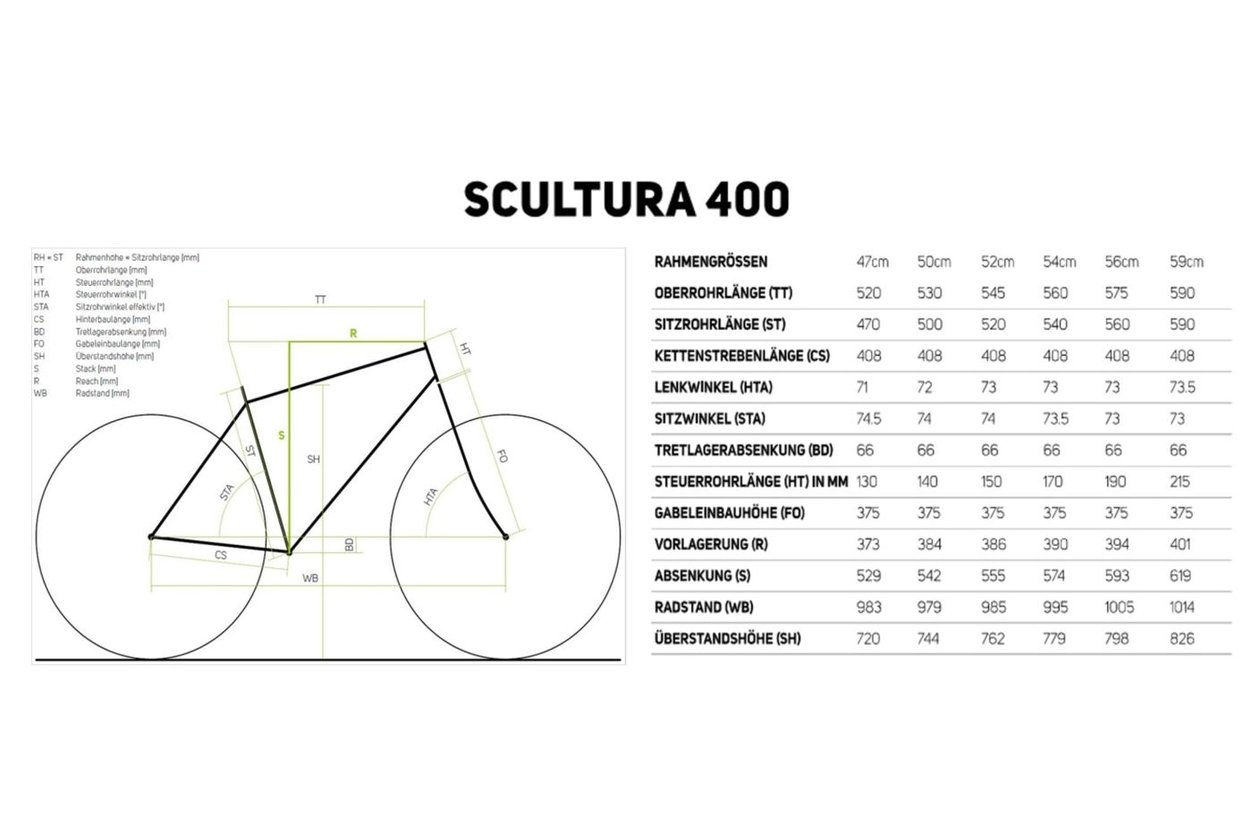 Merida Scultura 400 - 2017 - 28 Zoll - Diamant
