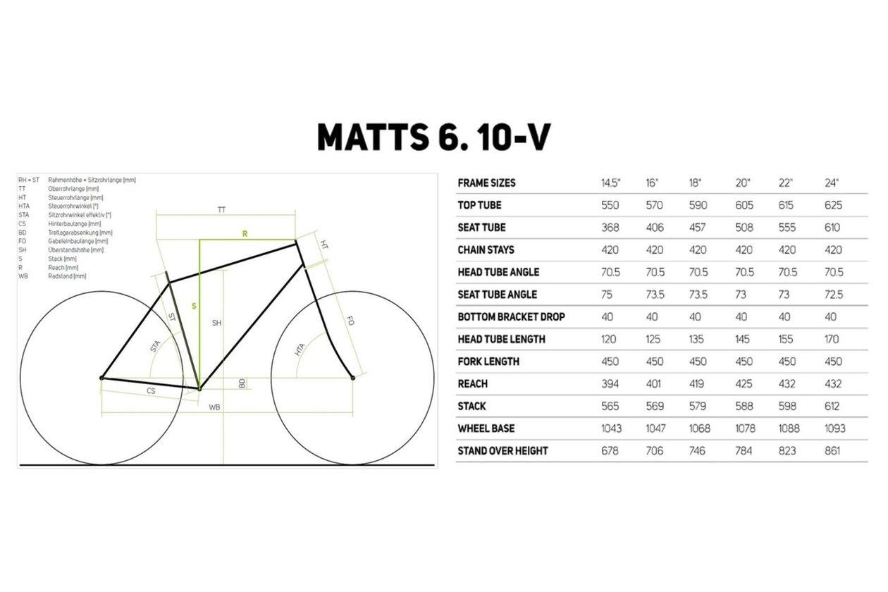 Merida Matts 6.10-V 2017 26 Zoll -21% | Fahrrad XXL