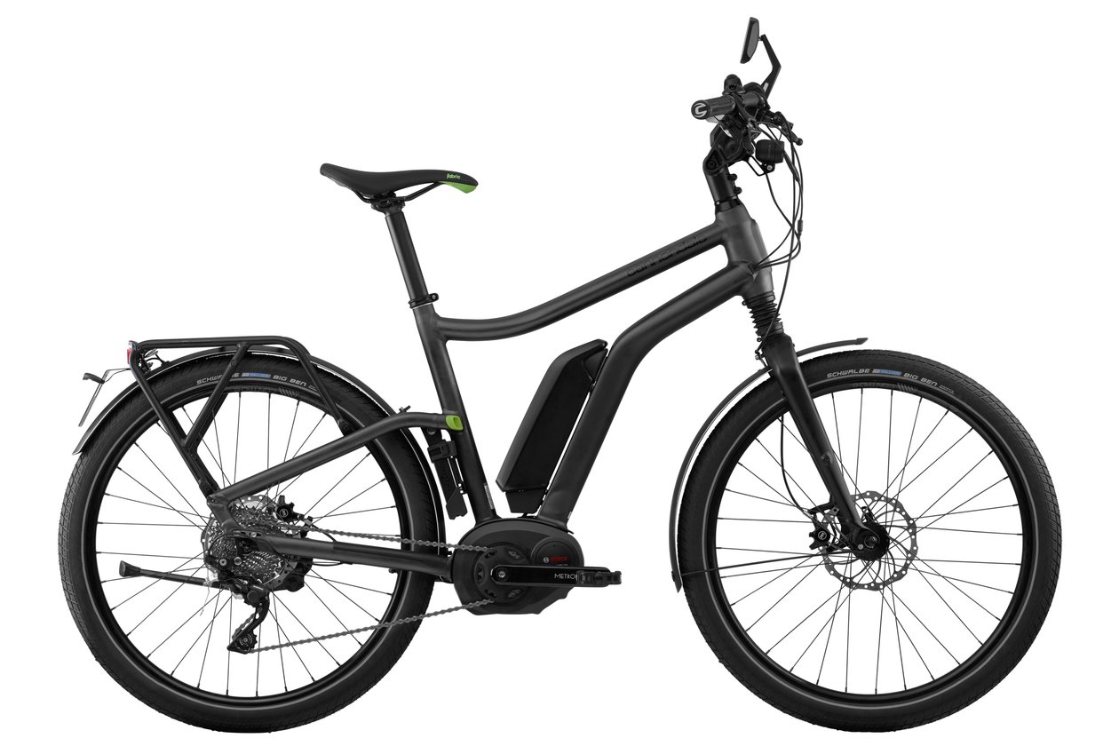 Cannondale Contro-E Speed 2 - 500 Wh - 2018 - 26 Zoll - Diamant