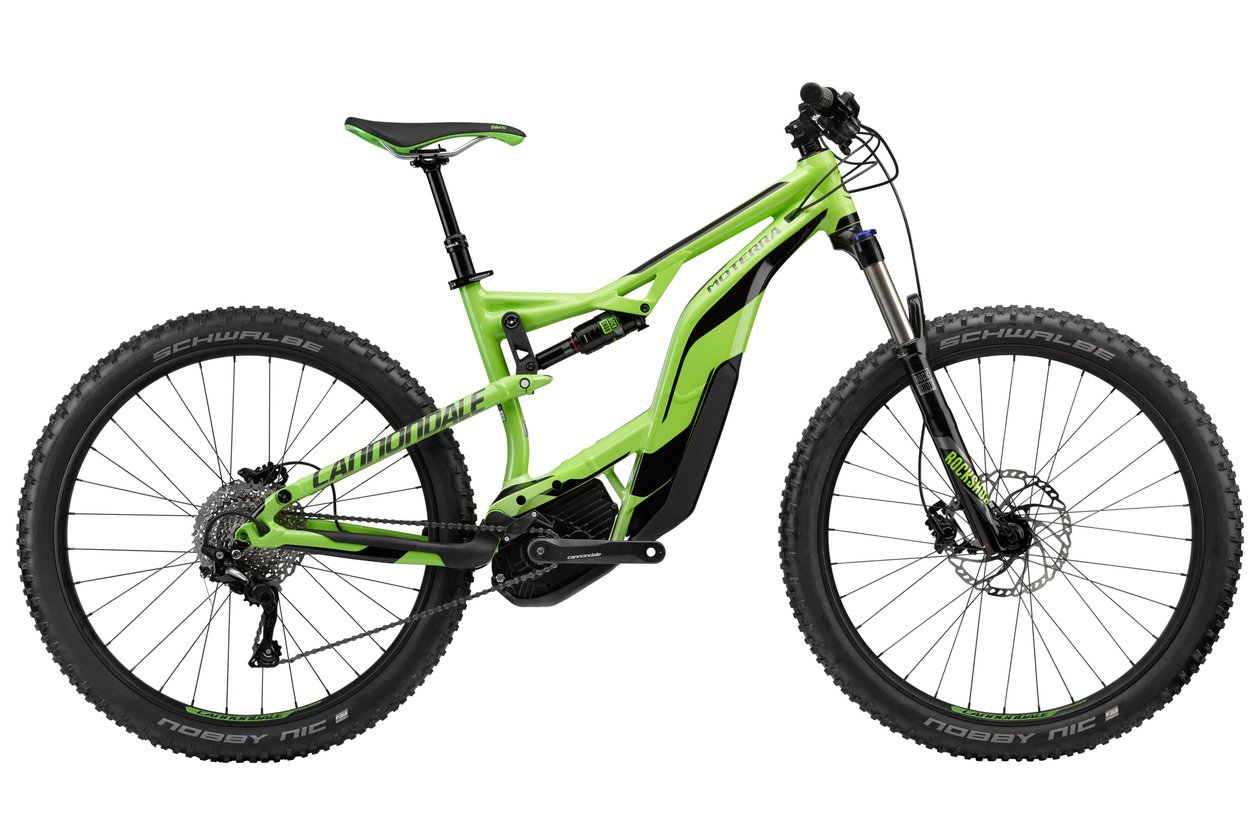 Cannondale Moterra 3 - 500 Wh - 2018 - 27,5 Plus Zoll - Fully