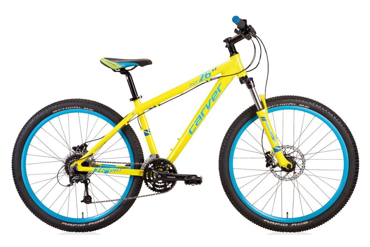 Carver PHT 26 Disc - Auslaufmodell - 26 Zoll - Hardtail