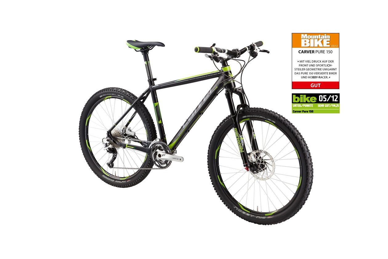 Carver PHT 150 - Auslaufmodell - 26 Zoll - Hardtail