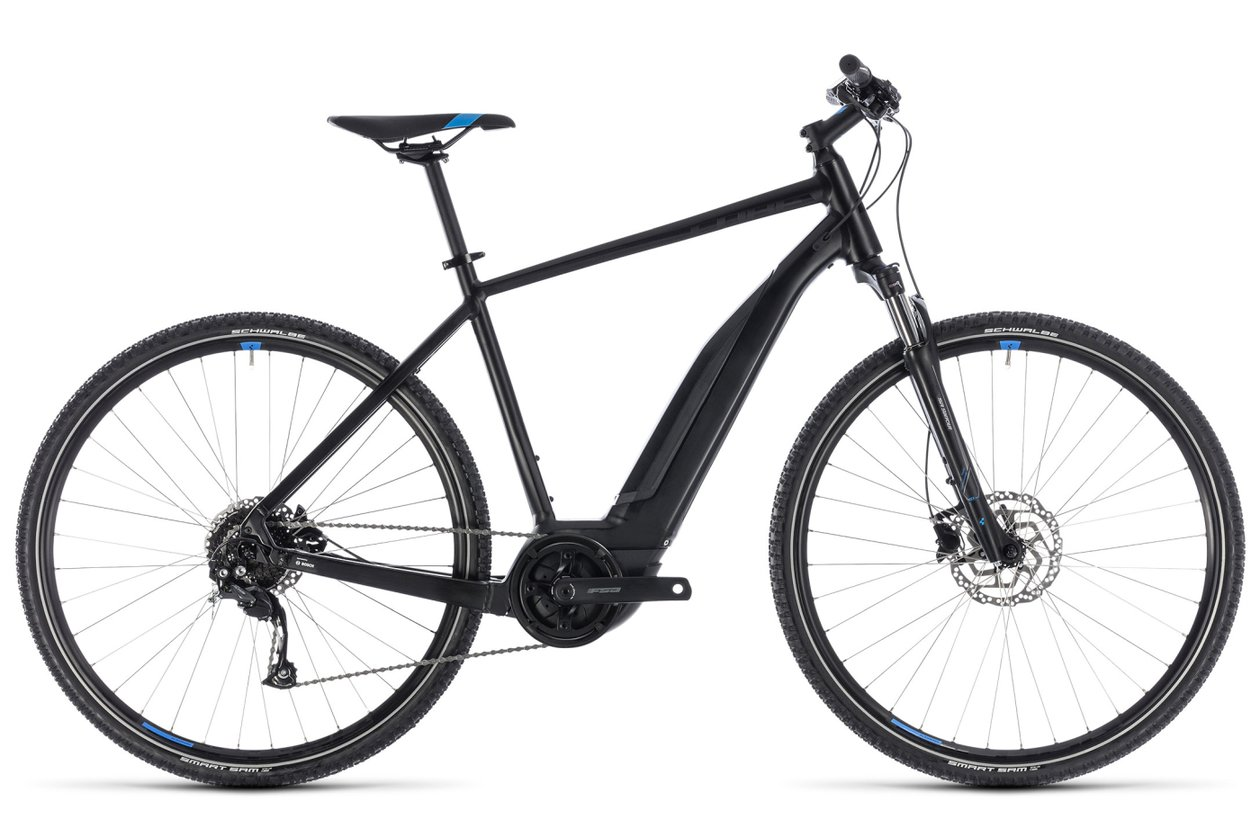 Cube Cross Hybrid ONE 400 - 400 Wh - 2018 - 28 Zoll - Diamant