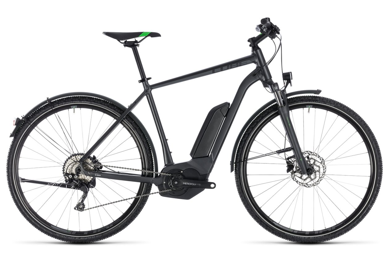 Cube Cross Hybrid Pro Allroad 500 - 500 Wh - 2018 - 28 Zoll - Diamant