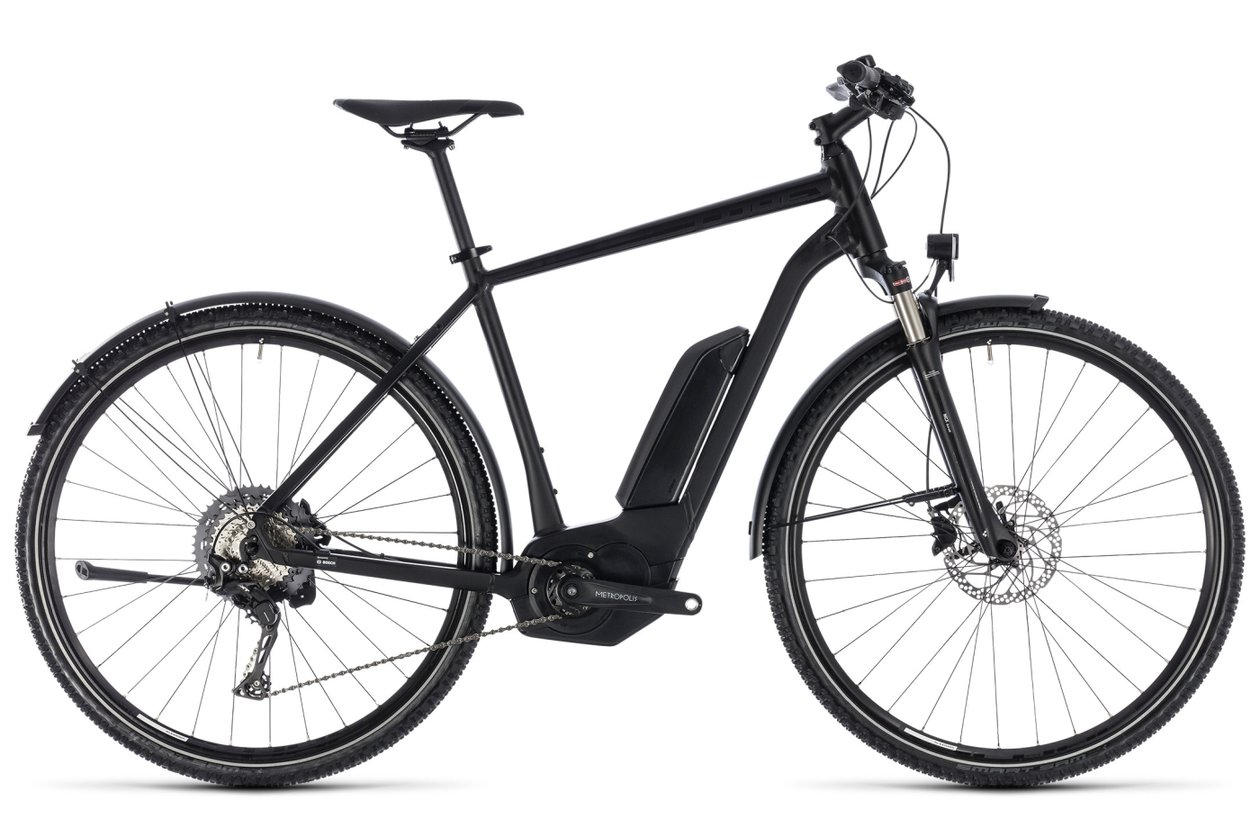 Cube Cross Hybrid Race Allroad 500 - 500 Wh - 2018 - 28 Zoll - Diamant