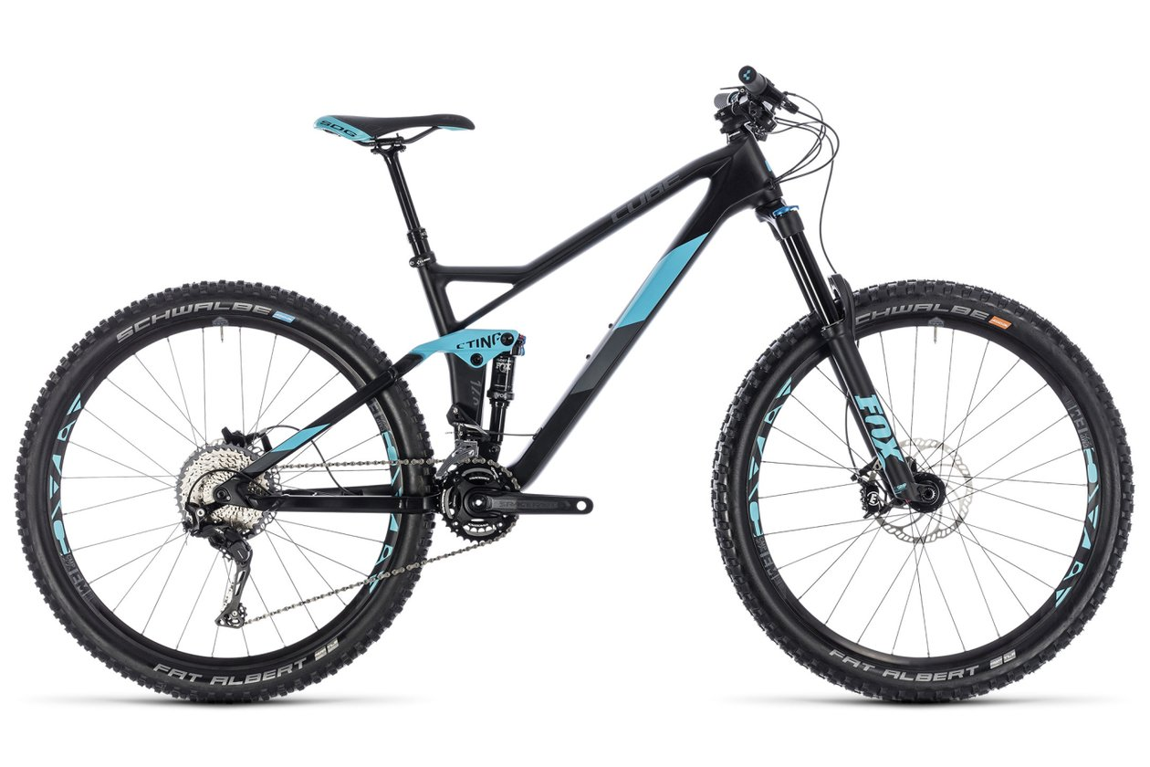 Cube Sting WS 140 HPC Race 27.5 - 2018 - 27,5 Zoll - Fully
