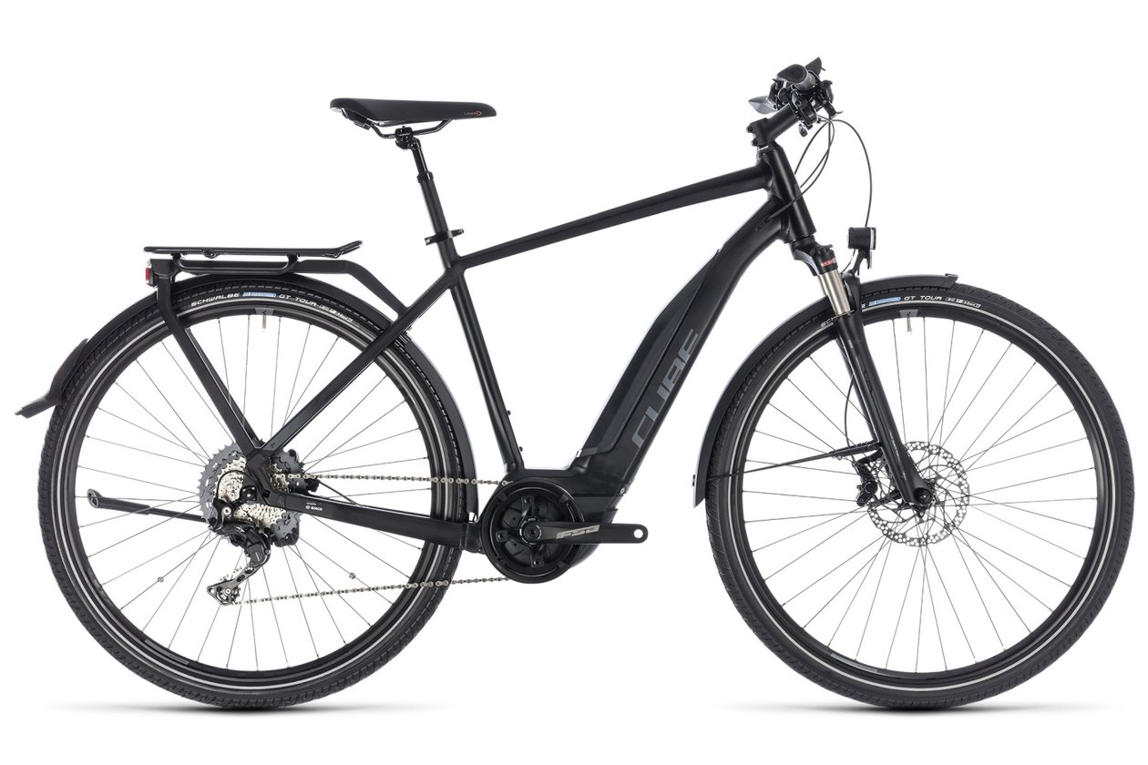 Cube Touring Hybrid EXC 500 - 500 Wh - 2018 - 28 Zoll - Diamant