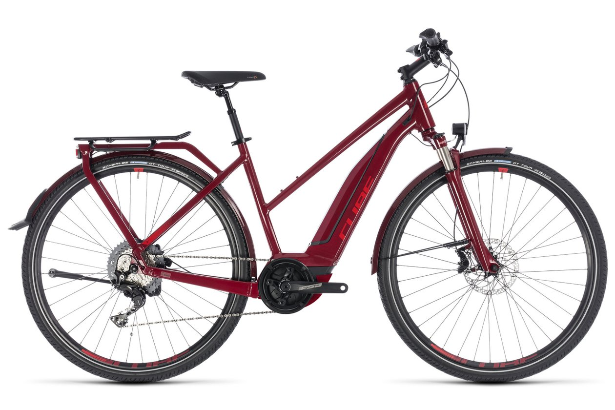 Cube Touring Hybrid EXC 500 - 500 Wh - 2018 - 28 Zoll - Damen Sport