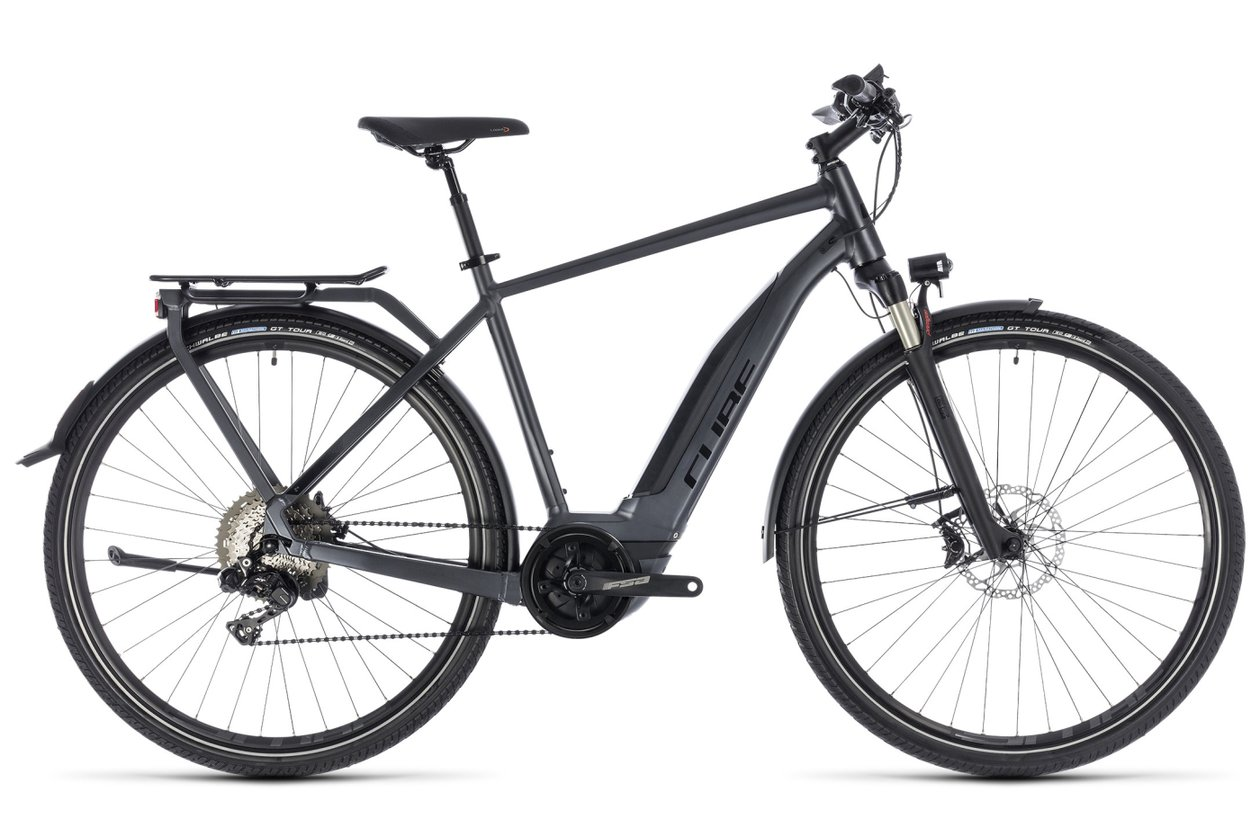 Cube Touring Hybrid SL 500 - 500 Wh - 2018 - 28 Zoll - Diamant