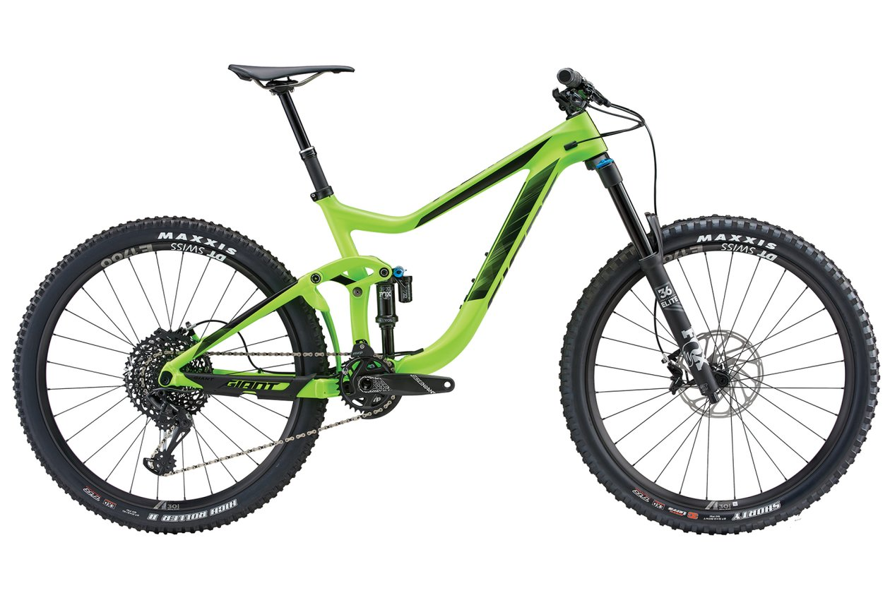 Giant Reign Advanced 1 - 2018 - 27,5 Zoll - Fully