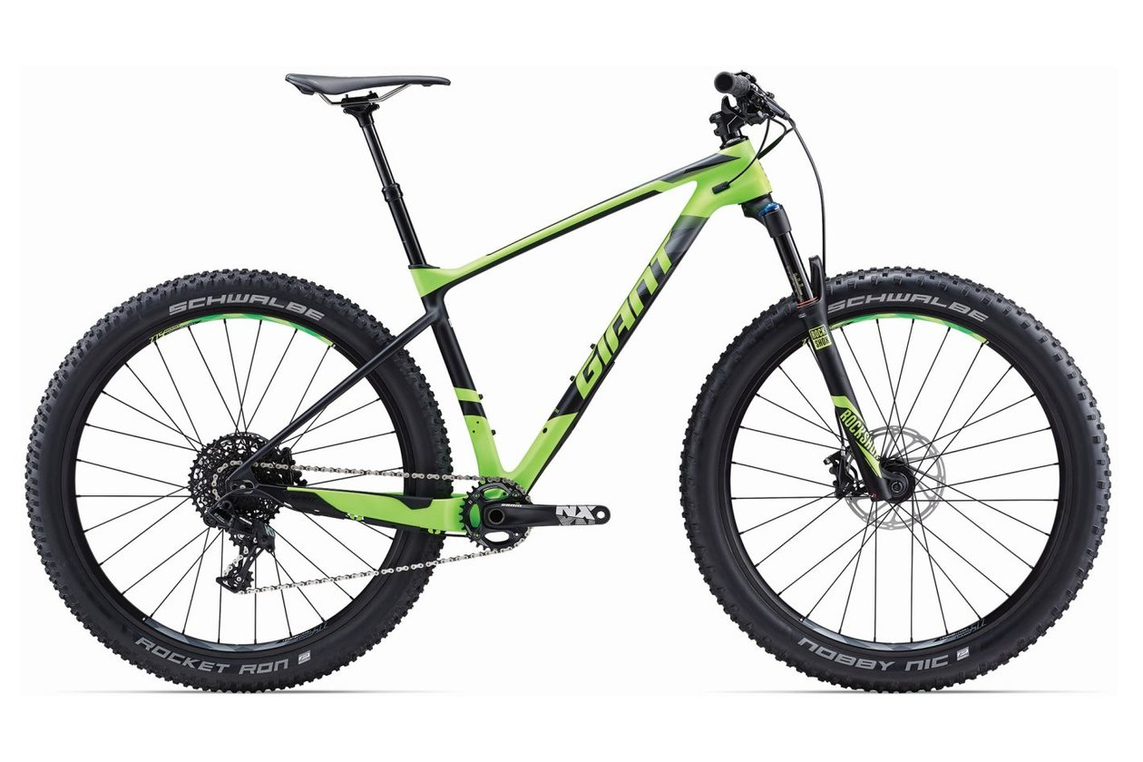 Giant XTC Advanced + 2 - 2017 - 27,5 Plus Zoll - Hardtail