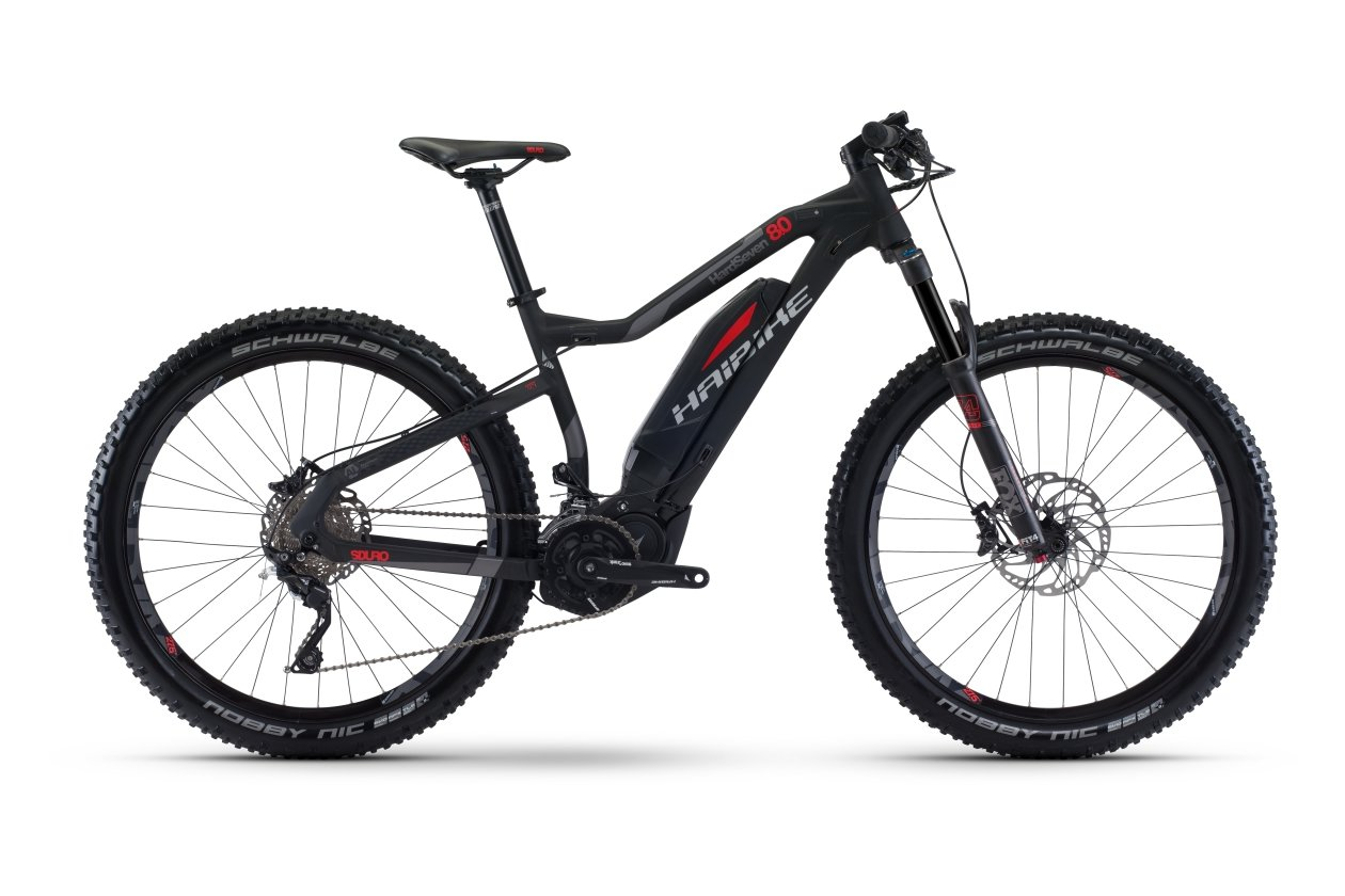 Haibike Sduro Hardseven 8.0 - 504 Wh - 2017 - 27,5 Zoll - Hardtail