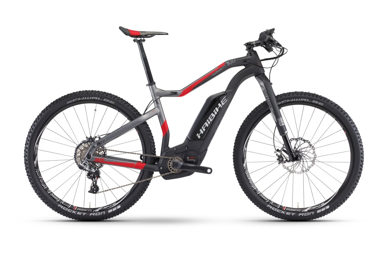 Haibike Xduro Hardseven Carbon 10.0 - 504 Wh - 2017 - 27,5 Zoll - Hardtail