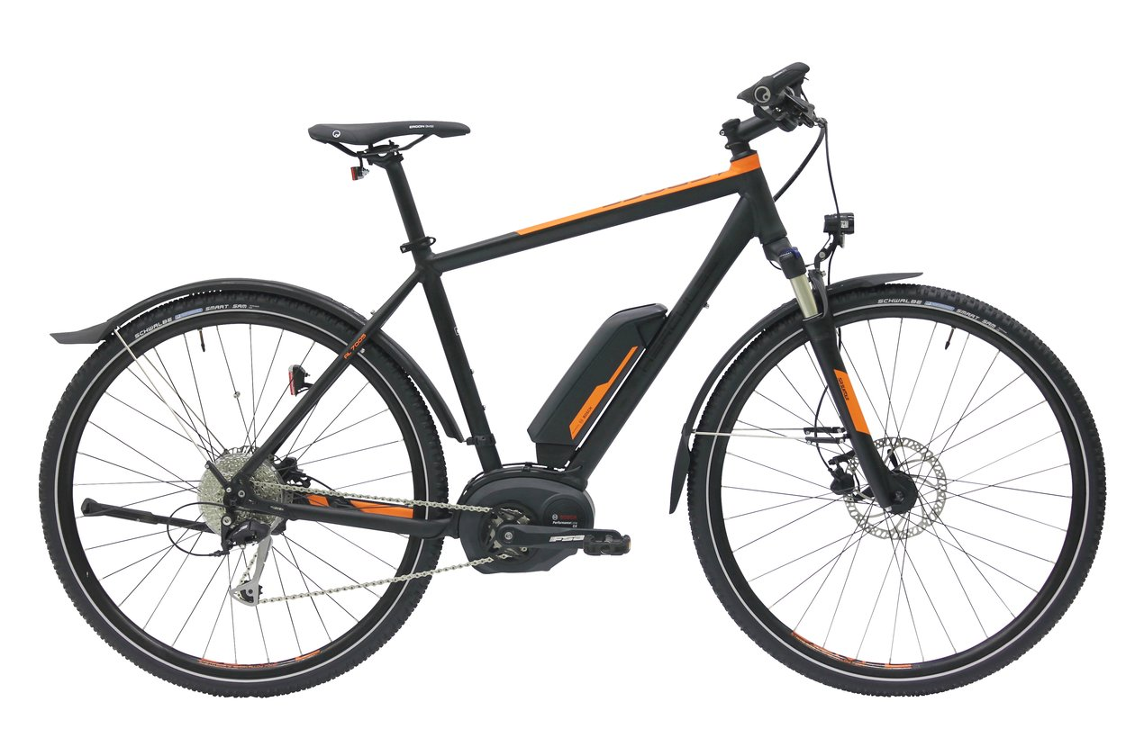 Hercules Rob Cross Sport 500Wh - 500 Wh - 2017 - 28 Zoll - Diamant