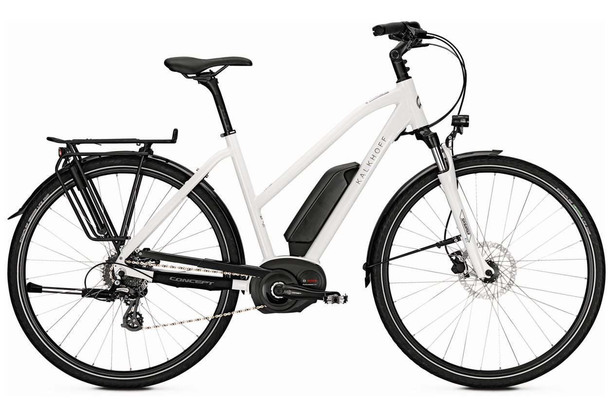 Kalkhoff Voyager Move B8 (400 Wh) - 400 Wh - 2018 - 28 Zoll - Damen Sport