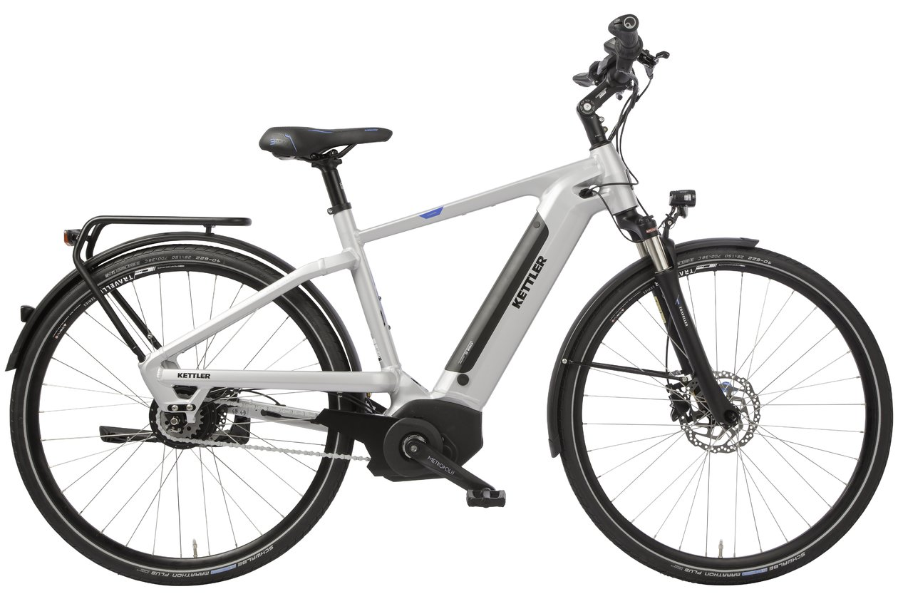 Kettler Traveller E Light Pro Nuvinci - 500 Wh - 2018 - 28 Zoll - Diamant