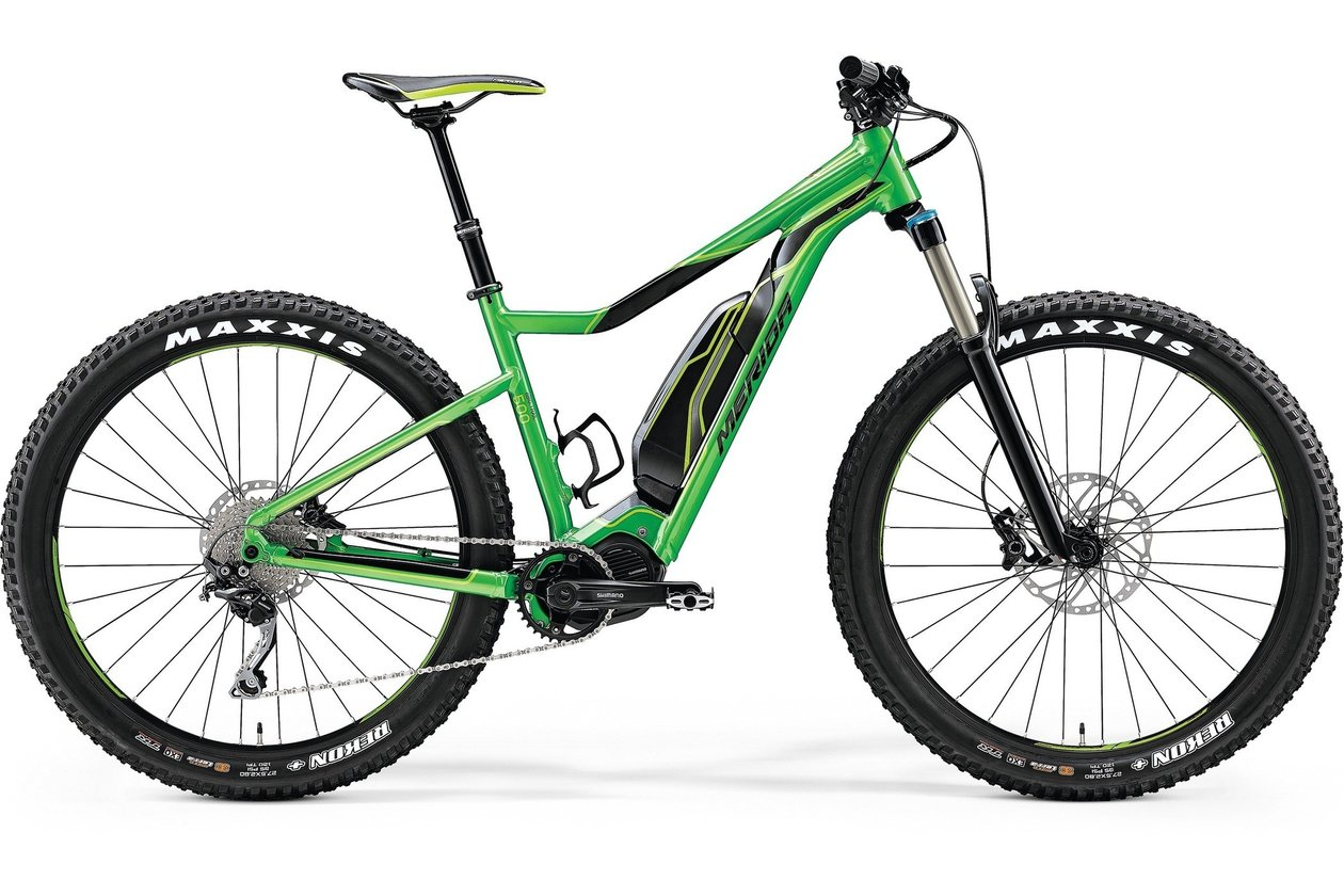 Merida eBig Trail 500 - 500 Wh - 2017 - 27,5 Plus Zoll - Hardtail