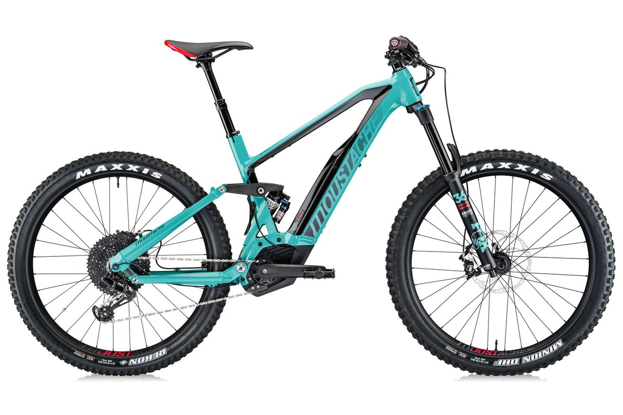 Moustache Samedi 27 Race 8 - 500 Wh - 2018 - 27,5 Zoll - Fully