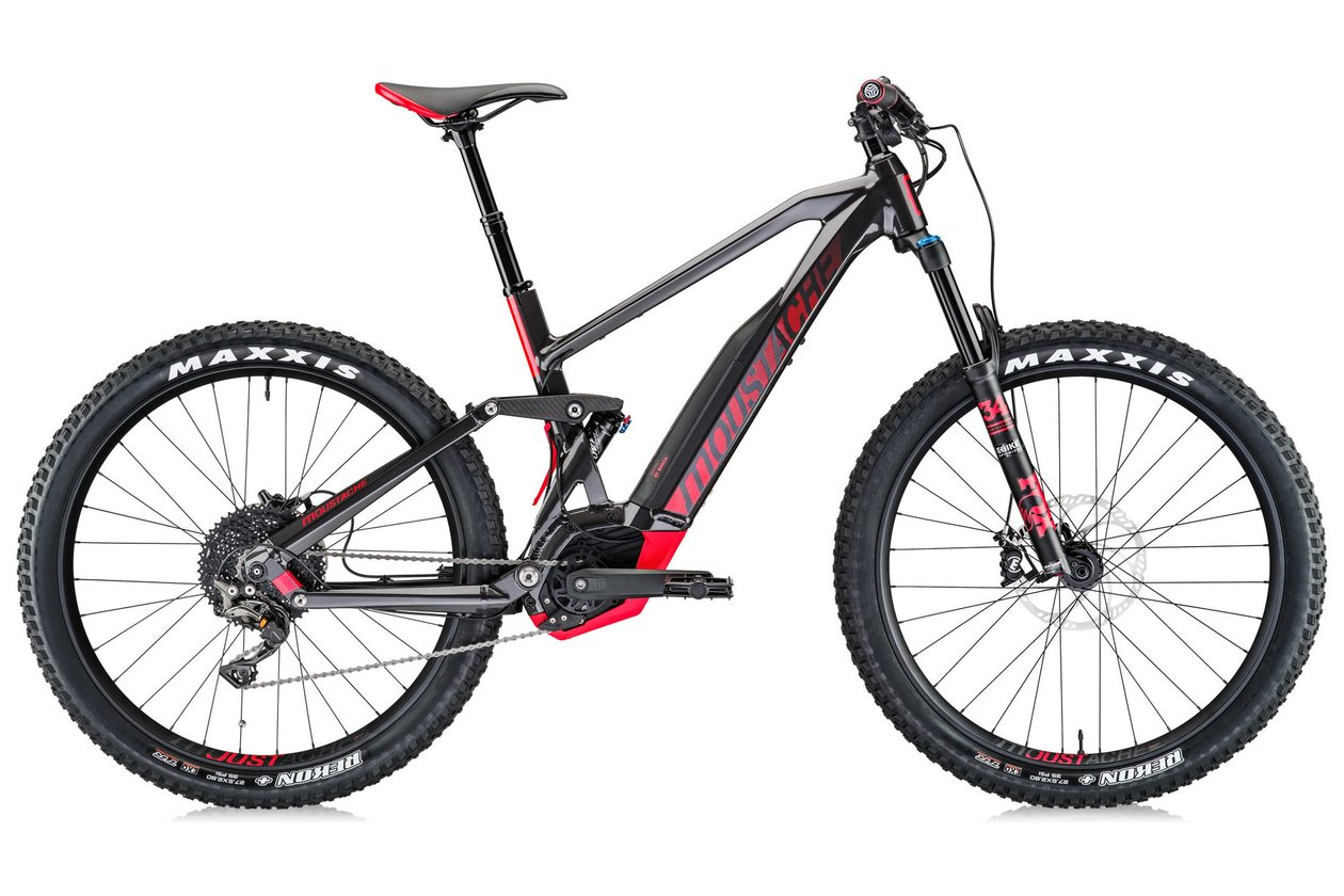 Moustache Samedi 27 Trail 8 - 500 Wh - 2018 - 27,5 Plus Zoll - Fully