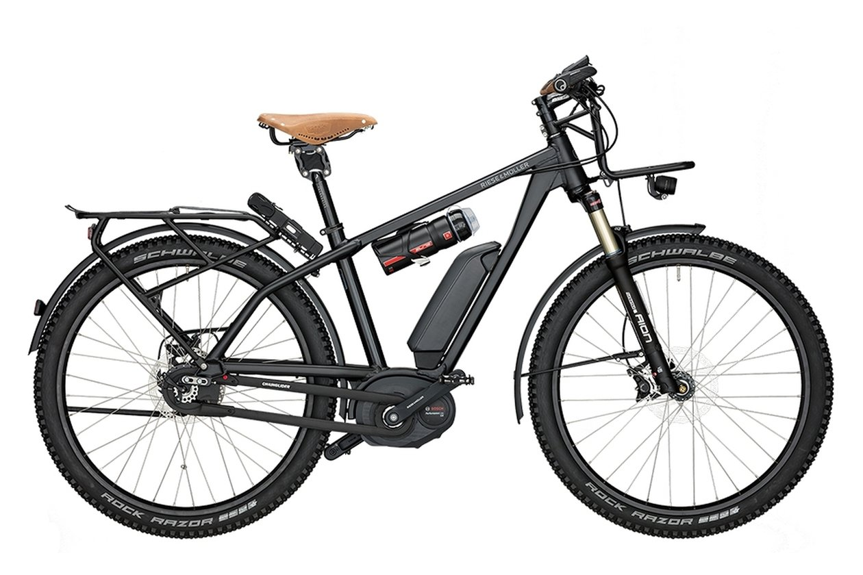 Riese und Müller Charger GX Rohloff - 500 Wh - 2017 - 27,5 Zoll - Diamant