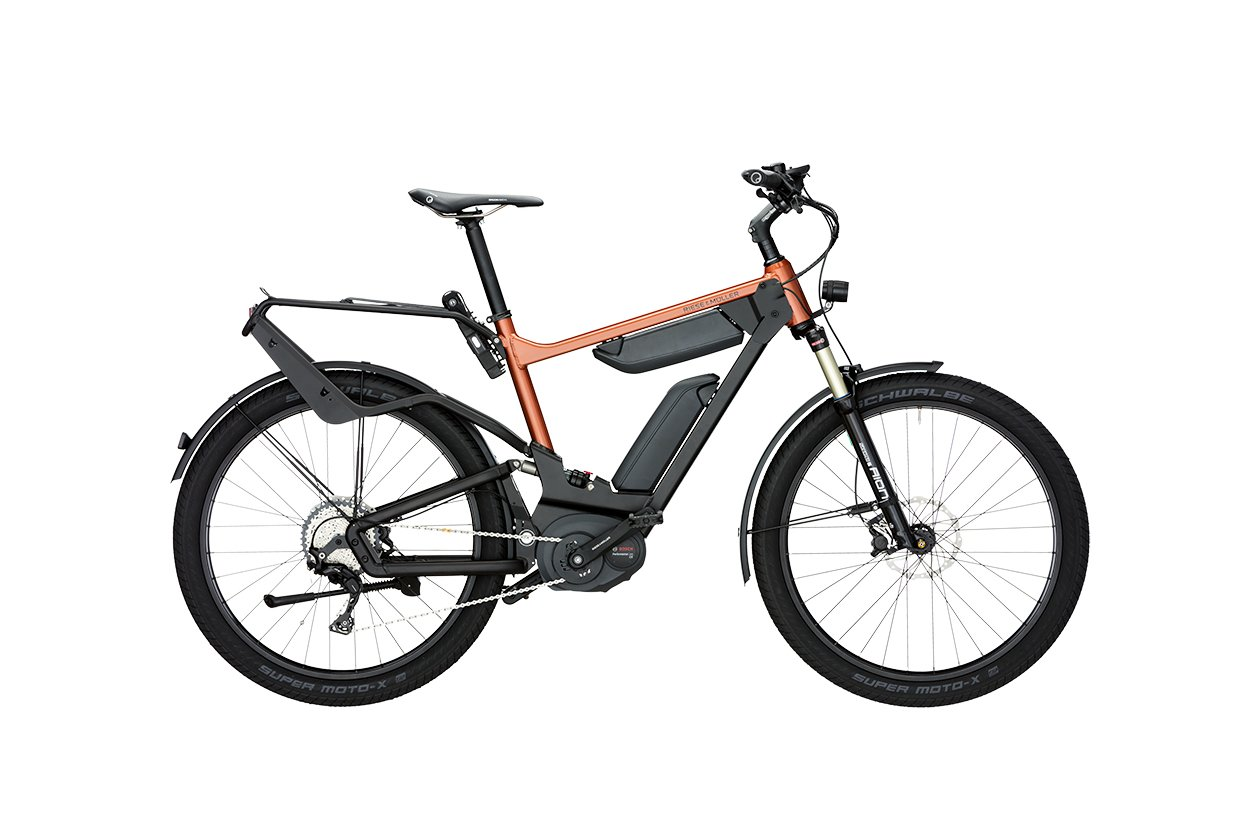 Riese und Müller Delite GX rohloff 1000 Wh (DualBattery) - 1000 Wh - 2017 - 27,5 Zoll - Diamant