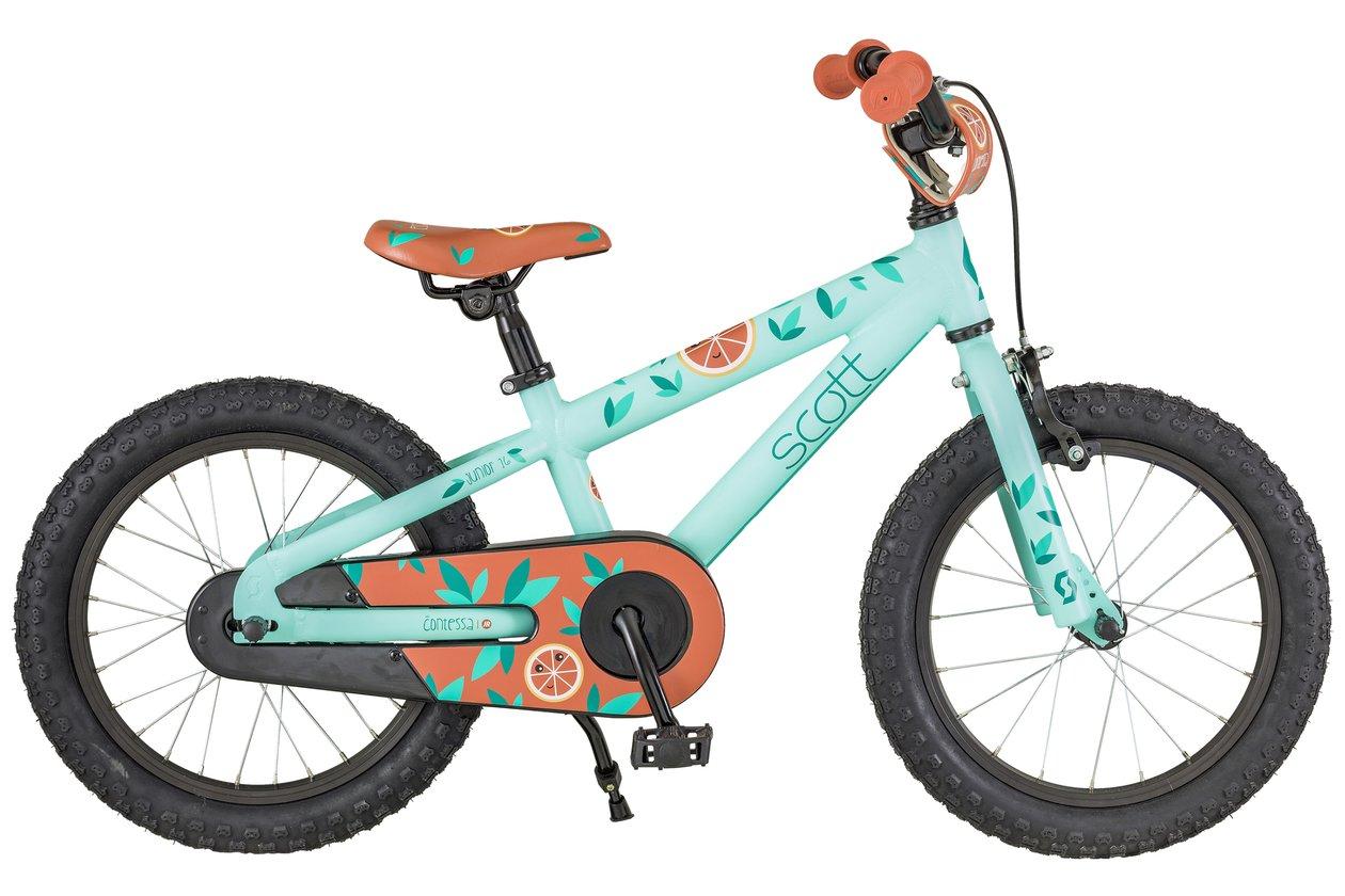 scott contessa jr 16 2018 16 zoll g nstig kaufen fahrrad xxl. Black Bedroom Furniture Sets. Home Design Ideas