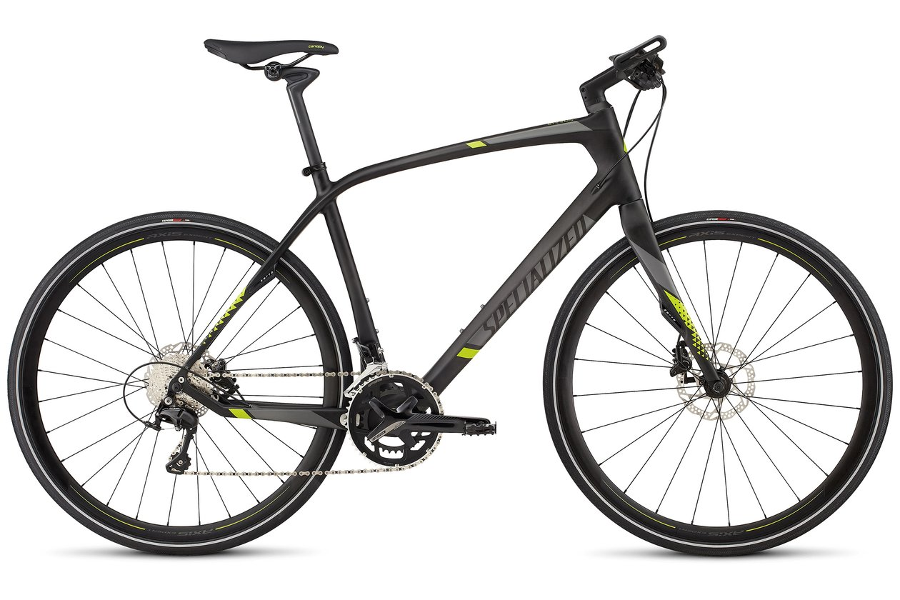 Specialized Sirrus Expert Carbon Disc - 2017 - 28 Zoll - Diamant