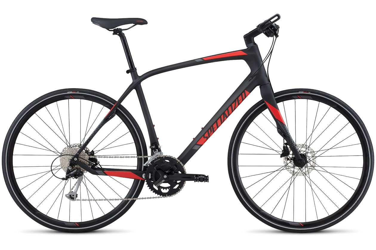 Specialized Sirrus Sport Carbon - 2017 - 28 Zoll