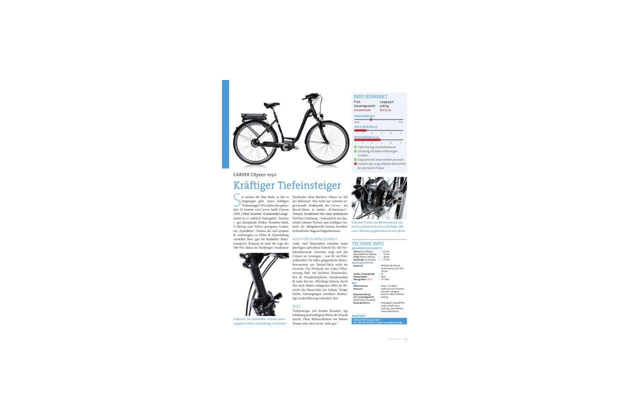Carver Cityzen 1050 28 Zoll -17%   Fahrrad XXL
