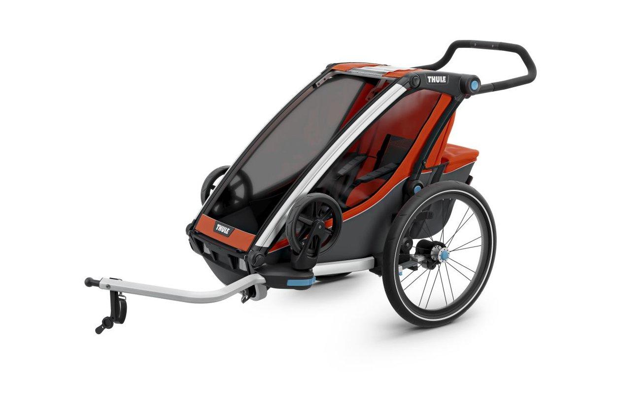 thule chariot cross 1 2017 g nstig kaufen fahrrad xxl. Black Bedroom Furniture Sets. Home Design Ideas