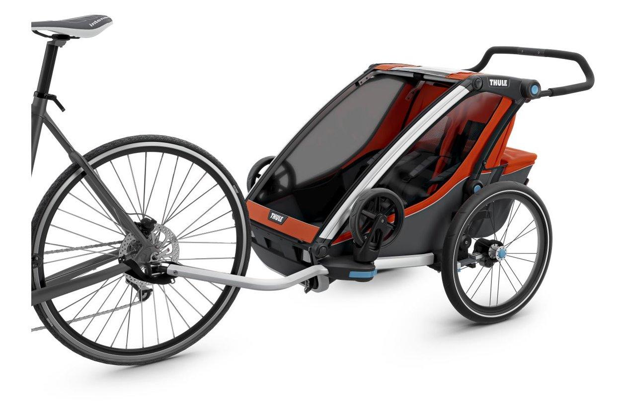 thule chariot cross 2 2017 20 fahrrad xxl. Black Bedroom Furniture Sets. Home Design Ideas