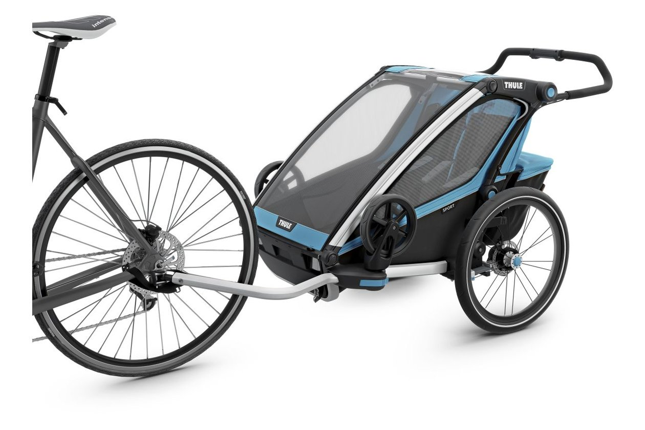 thule chariot sport 2 2017 21 fahrrad xxl. Black Bedroom Furniture Sets. Home Design Ideas