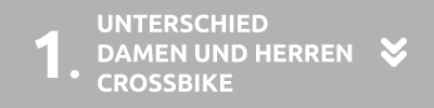 Unterschied Damen Herren Crossbike