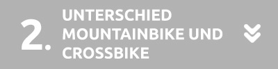 Unterschied Mountainbike Crossbike