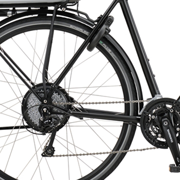 welche e bike motorposition ist am besten. Black Bedroom Furniture Sets. Home Design Ideas