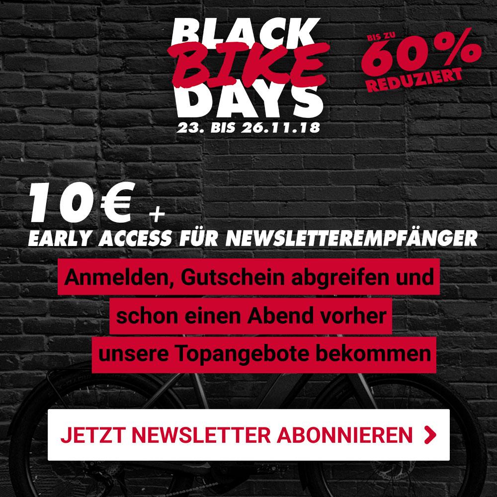 verschiedene Stile extrem einzigartig farblich passend Black Bike Days 2018: Start zum Black Friday | Fahrrad XXL