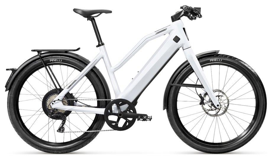 E-Bikes/e-bike: Stromer  ST3 Comfort Weiß Modell 2019