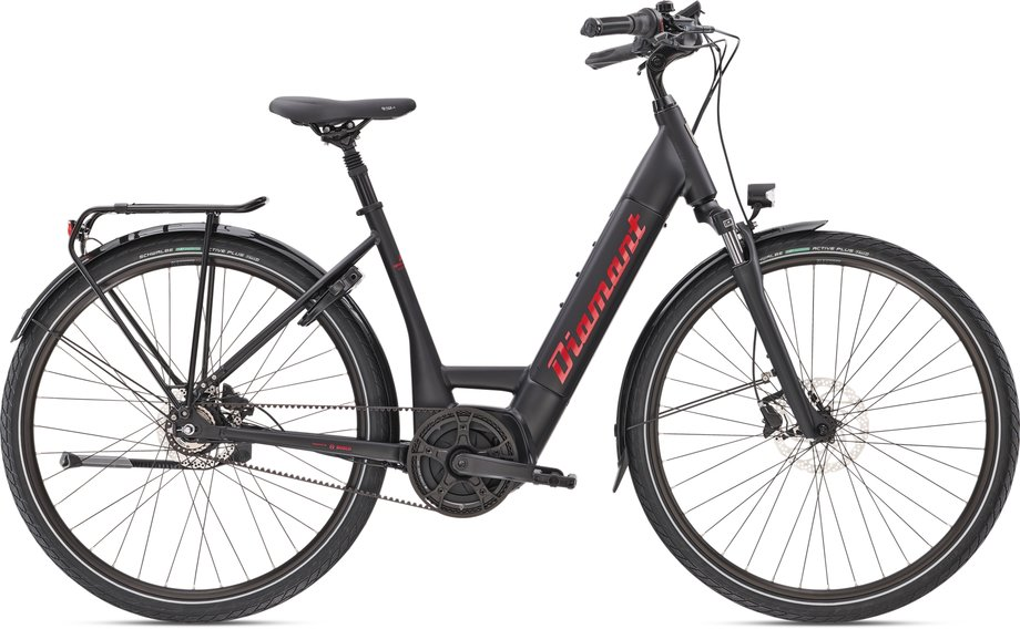E-Bikes/e-bike: Diamant  Beryll Esprit+ Schwarz Modell 2021