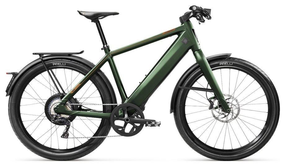 E-Bikes/e-bike: Stromer  ST3 LE Sport Grün Modell 2019