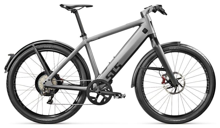 E-Bikes/e-bike: Stromer  ST5 Sport Grau Modell 2019