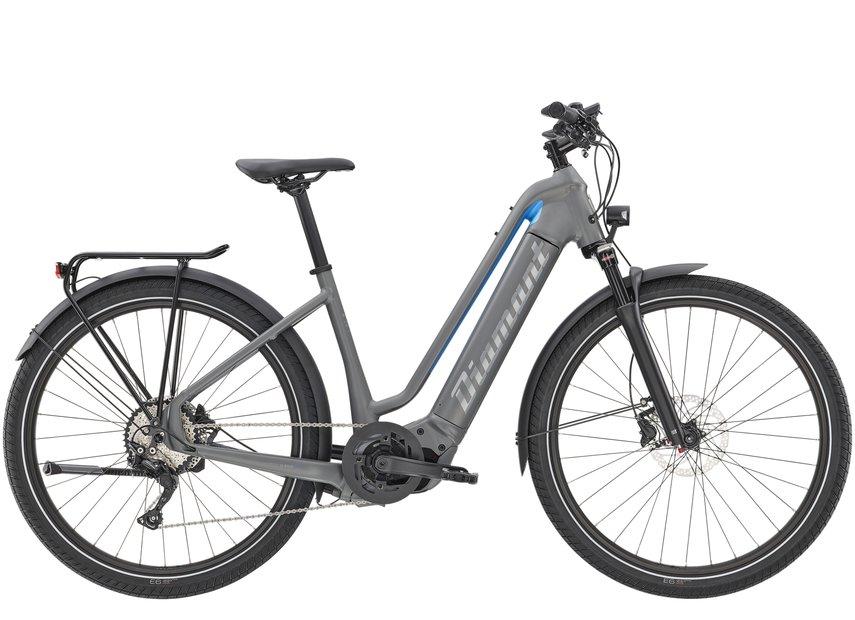E-Bikes/e-bike: Diamant  Zouma Deluxe+ Grau Modell 2021