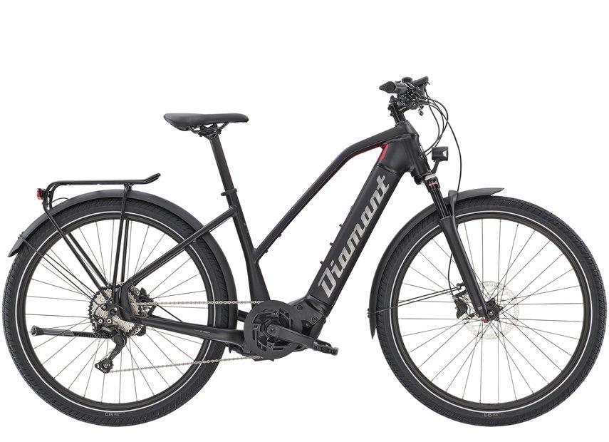 E-Bikes/e-bike: Diamant  Zouma Deluxe+ Schwarz Modell 2021