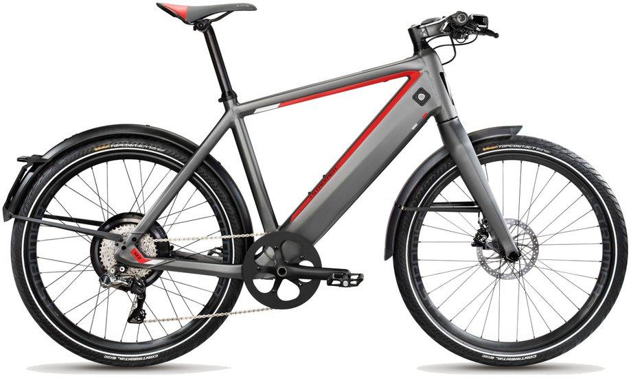 E-Bikes/e-bike: Stromer  ST2 S Grau Modell 2018