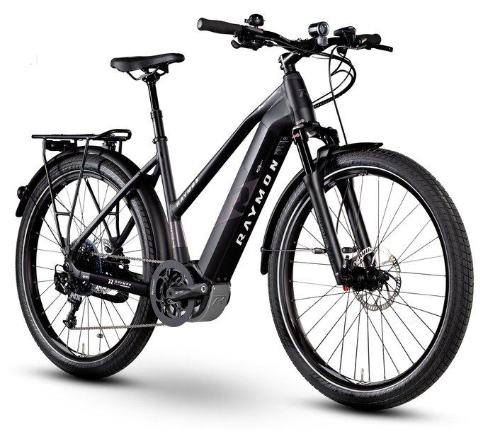 E-Bikes/e-bike: Raymon Raymon eTourray LTD 1.0 Schwarz Modell 2019