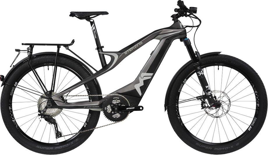E-Bikes/e-bike: M1-Sporttechnik  Sterzing Evolution GT S-Pedelec Grau Modell 2020